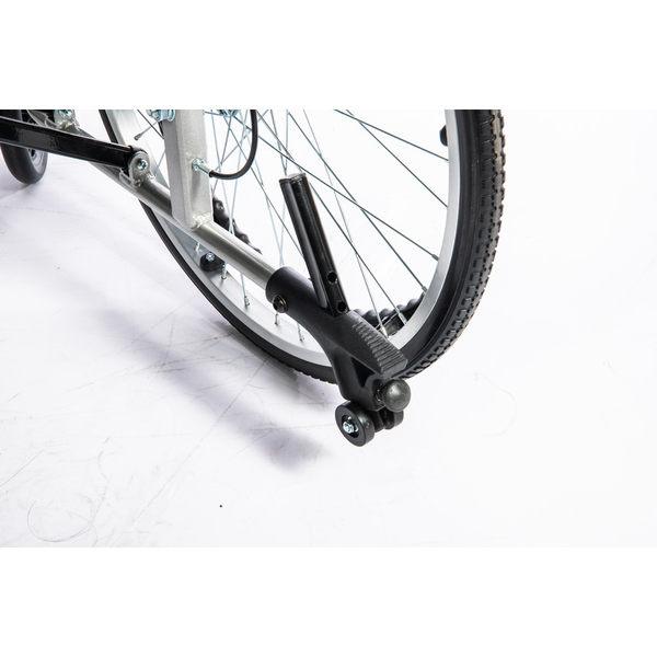 加碼送餐桌板+木單拐 均佳 機械式輪椅 (未滅菌) 鋁合金製 JW-250