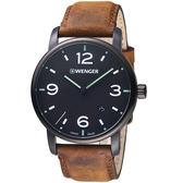 瑞士WENGER Urban Metropolitan都會系列城光點跡時尚腕錶   01.1741.121