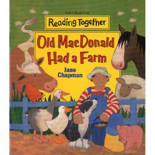 【Reading Together】Old MacDonald Had a Farm(1Book + 1CD)