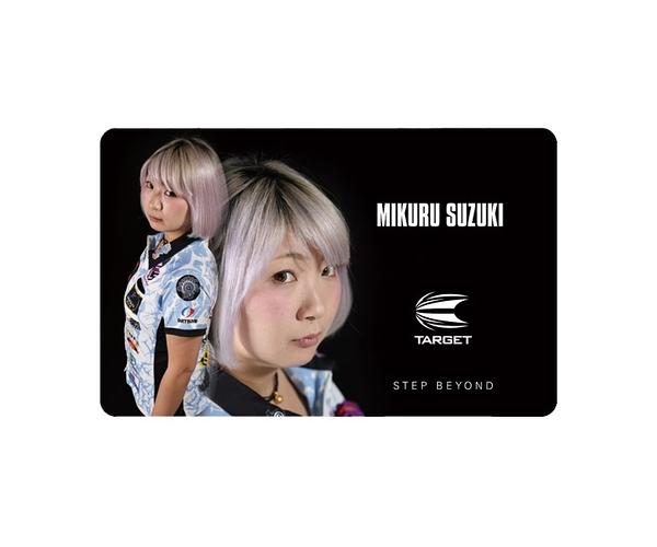 【TARGET】NEXUS Account Card 鈴木未來 飛鏢配件 DARTS
