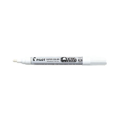 PILOT 百樂 SC-W-M 中型頭白色油漆筆2.0mm  / 支