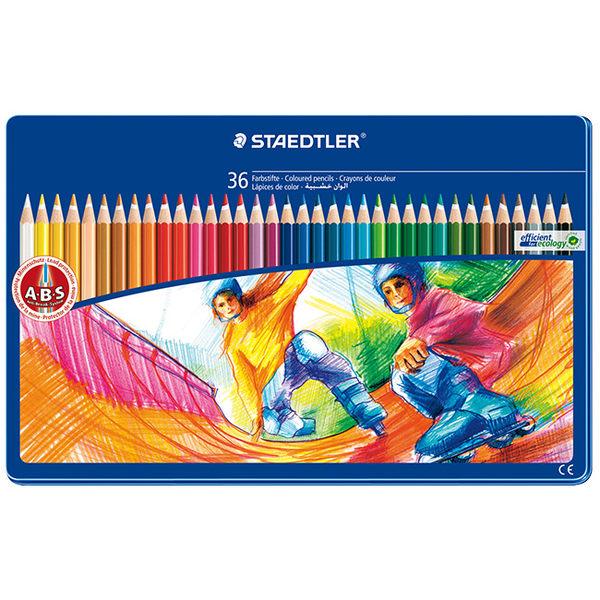 施德樓 MS145 SPM36 快樂學園油性色鉛筆36色組-運動篇