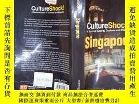 二手書博民逛書店CultureShock!罕見Singapore: A Survival Guide to Customs and