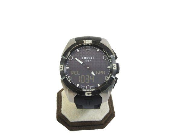 【特價42%OFF】TISSOT 天梭 T-TOUCH EXPERT 鈦金屬太陽能觸控腕錶【BRAND OFF】