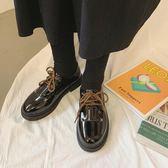 森女繫小皮鞋女新款網紅英倫風女鞋ins復古學生百搭單 伊蒂斯女裝