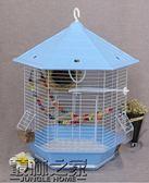 鸚鵡鳥籠 鐵藝鳥籠 金屬外掛鳥籠
