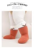 嬰兒襪子純棉寶寶中筒保暖加絨加厚襪子0-1-3歲新生兒兒童襪 七夕禮物