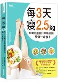 每3天瘦2.5kg:1日3餐科學菜單 掌握喝水時機 照做一定瘦!