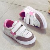 兒童小白鞋男童鞋休閒鞋秋季新款韓版女童板鞋中大童運動鞋子