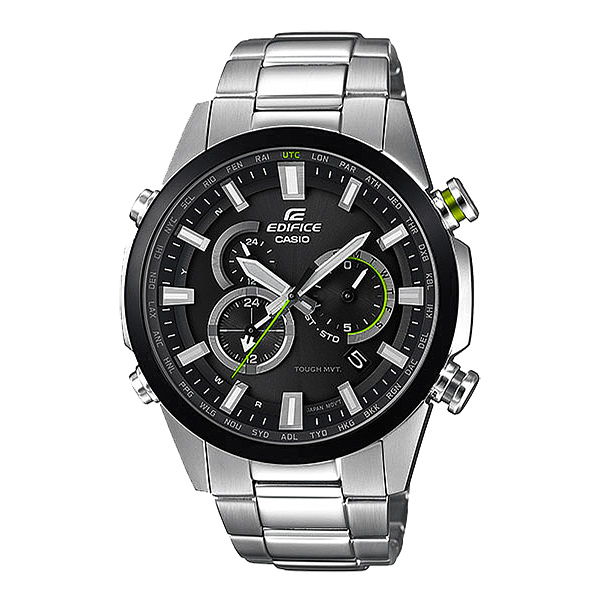 CASIO EDIFICE   越野極限太陽能電波腕錶-EQW-T640YDB-1ADR