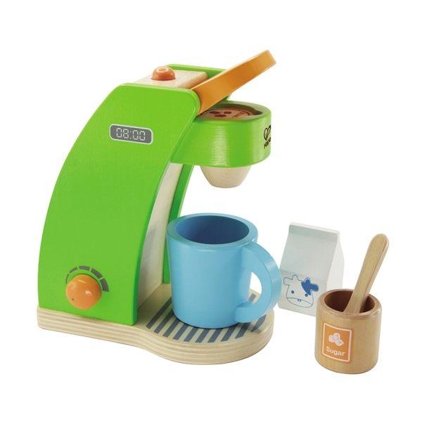 德國Hape愛傑卡-角色扮演系列咖啡製作機