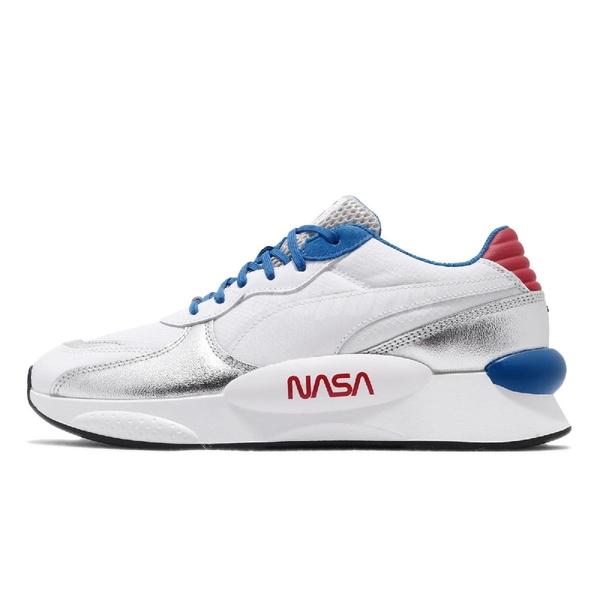 【六折特賣】Puma 休閒鞋 RS 9.8 x Space Agency 白 藍 男鞋 運動鞋 NASA 【ACS】 37250901