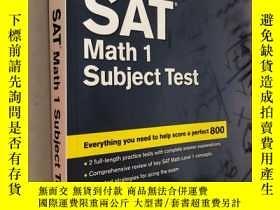 二手書博民逛書店Cracking罕見the SAT Math 1 Subject