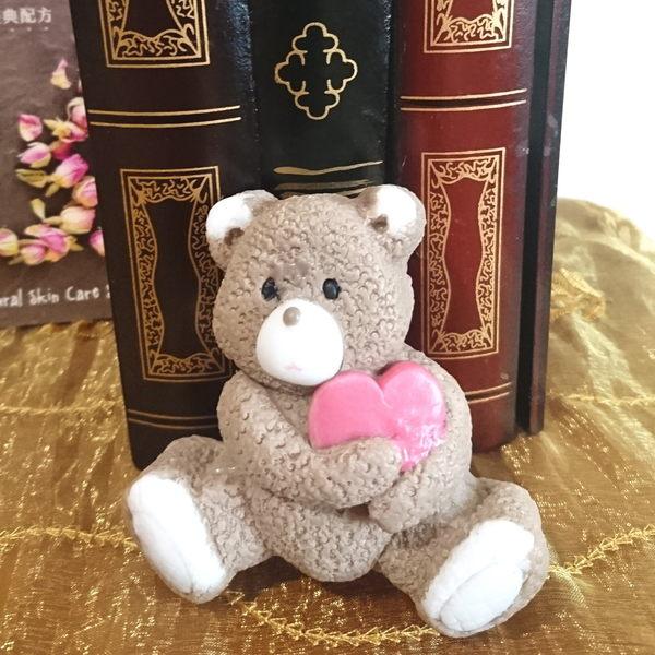 禮物首選 藝術手工皂- 熊愛您  超萌的文創皂