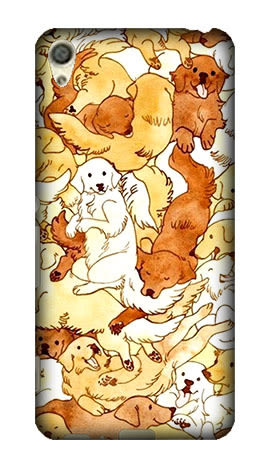 Sony Xperia X F5121 F5122 F8332 F5321 手機殼 軟殼 保護套 黃金獵犬