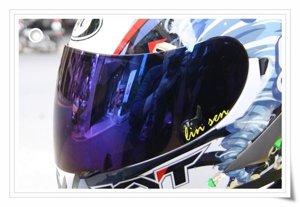 KYT安全帽,泛維達專用電鍍鏡片
