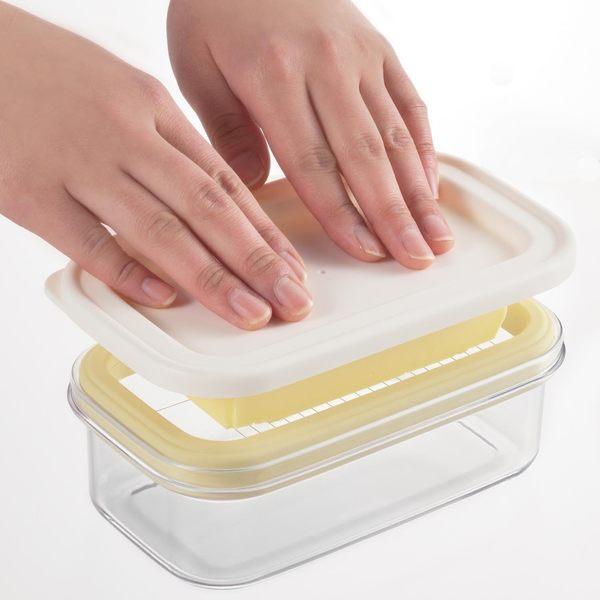 [霜兔小舖]日本製 AKEBONO 曙產業 奶油切割器 保存盒 ST-3007