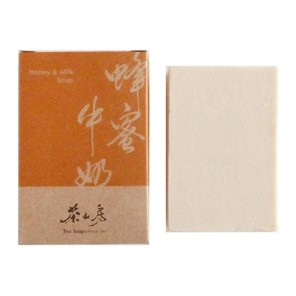 茶山房 蜂蜜牛奶皂 100G【屈臣氏】