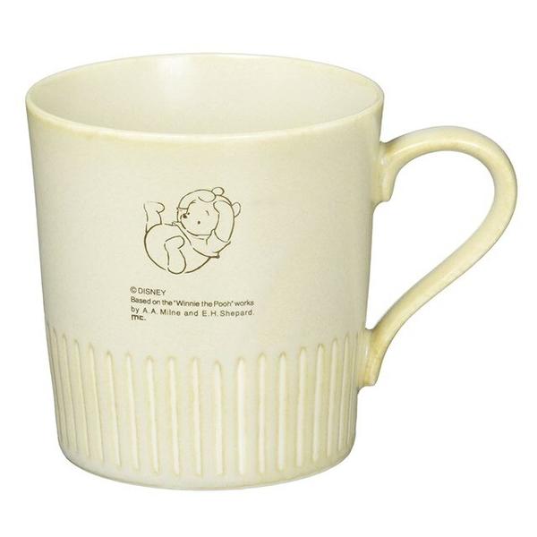 小禮堂 迪士尼 小熊維尼 日本製 陶瓷馬克杯 (美濃燒) 4979274-52392