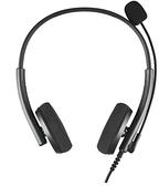 頭戴耳機 話務員專用耳機客服電銷電話降噪網課學習電腦USB手機頭戴式耳麥