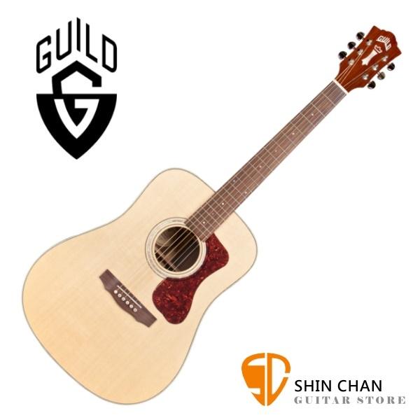 Guild吉他 Guild D-150 全單板吉他 / 標準D桶 雲杉面板/印度玫瑰木側背板 附Guild吉他袋 台灣公司貨 D150