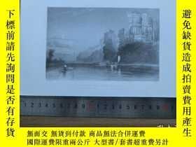 二手書博民逛書店【罕見】19世紀 銅 鋼版畫 單幅 ROCKSON THE ME