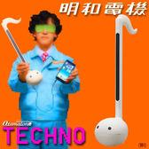 Hamee日本 Otamatone TECHNO 明和電機 音樂蝌蚪大 電子二胡 玩具樂器 44cm 大白二 355-128615