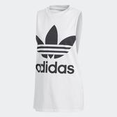 Adidas Originals Trefoil Tank 女裝 背心 休閒 慢跑 訓練 健身 白【運動世界】CE5580
