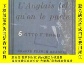 二手書博民逛書店L Anglaais罕見Tel qu on le parleY5