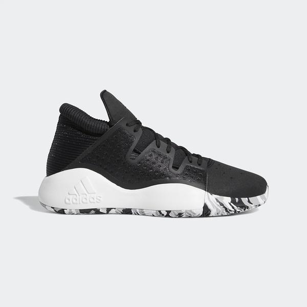 Adidas Pro Vision [EF0478] 男鞋 運動 籃球 慢跑 休閒 緩震 舒適 健身 輕量 愛迪達 黑白