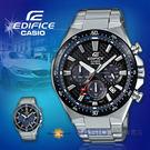 CASIO 卡西歐 手錶專賣店 國隆 EDFICE EQS-800CDB-1A 三眼計時賽車男錶 不鏽鋼錶帶 黑色錶面 EQS-800CDB