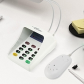 外接防窺白色USBpos終端機