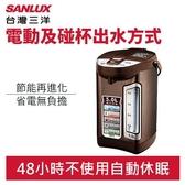 SANLUX 台灣三洋 SU-05YT 5公升 光控 節能 熱水瓶