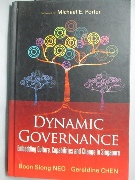 【書寶二手書T4/社會_XBZ】Dynamic Governance: Embedding Culture, Capab