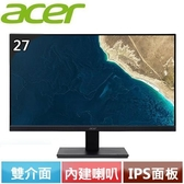 Acer宏碁 V277U 27型 IPS無邊框美型螢幕