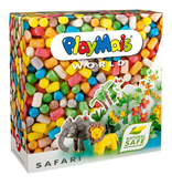 德國PlayMais 玩玉米黏土主題禮盒-非洲草原