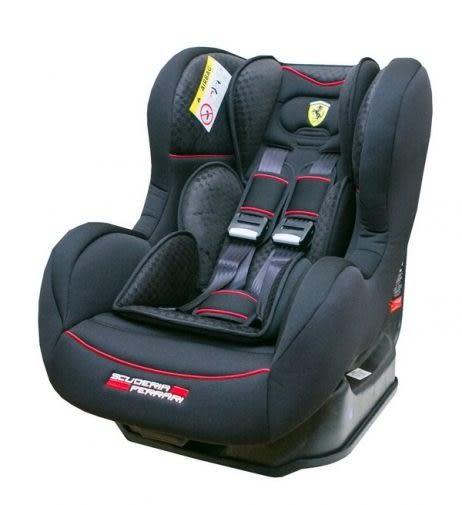 『121婦嬰用品館』Ferrari 旗艦法拉利0~4歲安全汽座(尊爵黑)FB00299