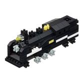 《 Nano Block迷你積木 》NGT-020 nanoGauge 列車收藏 蒸汽火車 ╭★ JOYBUS玩具百貨