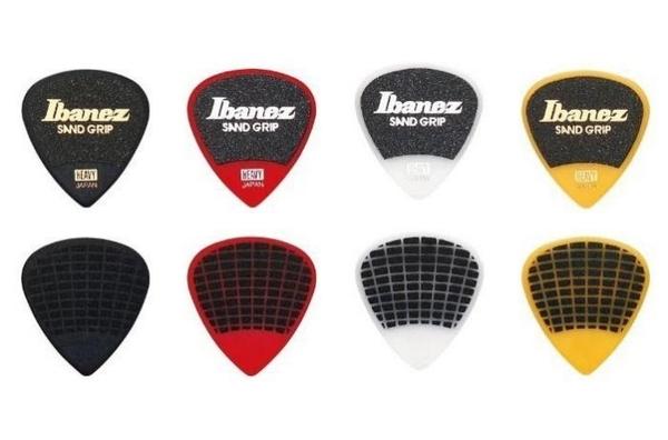 ☆ 唐尼樂器︵☆新款 Ibanez PA16 沙面/雙面超防滑電吉他/電貝斯/ Bass 用 Pick 彈片