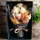 生日實用創意浪漫禮物情人節送媽媽閨蜜愛人女生清新香皂花束禮盒【1776香檳】