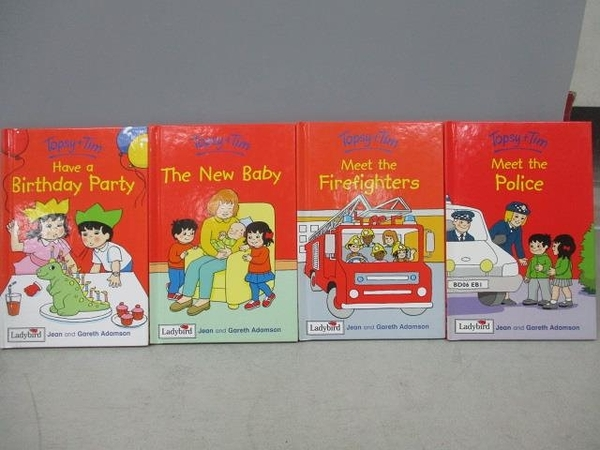【書寶二手書T2/語言學習_MMS】Topsy+Tim-The New Bady_Meet the Police等_共4