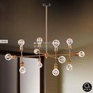 吊燈★創意造型 鐵藝燈泡吊燈 12燈✦燈具燈飾專業首選✦歐曼尼✦