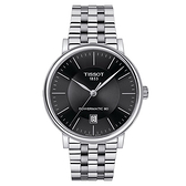 ◆TISSOT◆CARSON PREMIUM 都會品味紳士機械錶 T122.407.11.051.00 黑X銀