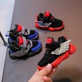 小童冬季加絨棉鞋女寶寶鞋子保暖兒童軟底運動鞋男童學步鞋1-3歲2