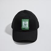 Adidas NOT EASY CAP 黑 科米蛙 休閒 運動帽 GN2289