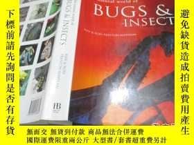 二手書博民逛書店THE罕見natural world of BUGS & INS