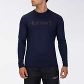 Hurley M HRLY OAO SURF SHIRT LS OBSIDIAN 衝浪T恤長袖-(男)