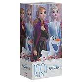 Disney Frozen迪士尼冰雪奇緣 冰雪奇緣2: 100片紙盒拼圖 玩具反斗城