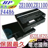 HP 電池-惠普 電池- PAVILION ZE1000,ZE1110,XF328,XF145,XF23,F4486A,F5398 系列 HP 電池