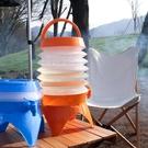 水桶 戶外折疊水桶可伸縮蓄水桶野營便攜飲水機大容量野炊水具帶水龍頭
